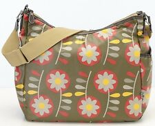 NWT OiOi Diaper Bags Retro Flower Hobo Diaper Bag