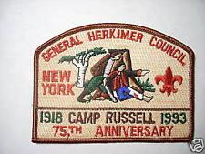 GENERAL HERKIMER COUNCIL 75th ANNIVERSARY CSP  SA4