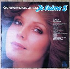 ORCHESTER ANTHONY VENTURA Traum-Melodien Je t'aime 5 LP/GER