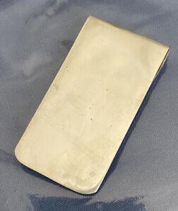 Vintage Sterling Silver Tiffany & Co Money Clip