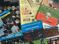 More details for original fa charity shield football programmes * choose from list*