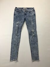 Women's Hollister 'Skinny' Jeans - W26 L32 - Distressed - Great Condition