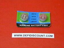 Piles boutons vendu par x2 LR44 AG13 alcaline 1,5v