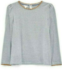 New White Stuff Womens Ladies Grey Pin Stripe Top Size 8 10 12 14 16 18 20
