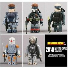 METAL GEAR SOLID 20TH ANNIVERSARY EDITION KUBRICK FIGURE COMPLETE  SET
