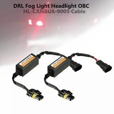 2x9005 LED Truck Vehicle DRL Fog Light Error Flicker Auto Car Decoder Device Kit