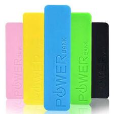 Pink 2600mAh POWER BANK PORTABLE USB BATTERY CHARGER Iphone Samsung