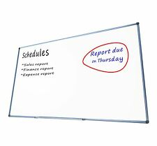 Magnetic Whiteboard 1800x900 mm Wall Mounted