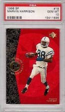 1996 SP #18 Marvin Harrison RC Rookie Colts PSA 10 Gem Mint