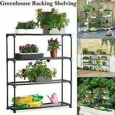4 Tier Shelving New Staging Display for Greenhouse Racking Single Pack Steel UK