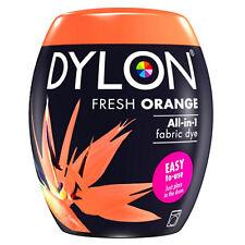 DYLON Textilfarbe fresh Orange Farbe & Fixierer für 600g Stoff fabric dye frisch
