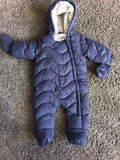 Blue Snow Suit - 0-3 Months - Winter