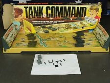 Tank Command By Ideal Toys - Damaged & Incomplete Strategic Military Board Game