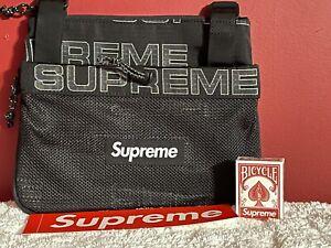 Supreme SS21 Side Bag - Black Brand New 🔥