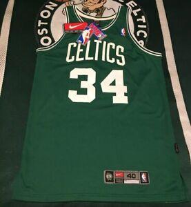 Authentic On Court Style Vintage Nike 40 Jersey Paul Pierce Boston Celtics