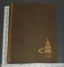 1937 THE ELMS YEARBOOK STATE TEACHERS COLLEGE AT BUFFALO NY