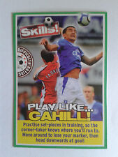 2009 Match of the Day Magazine Cahill Everton Card