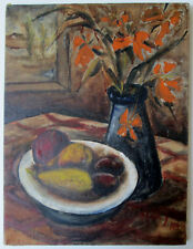 Vintage Oil Painting Signed Illegibly.