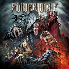 The Sacrament of Sin POWERWOLF  2 CD SET LTD DIJIPACK