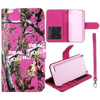 Real Pink Girlzzss  Pink Wallet Leather Flip for Apple Iphone SE  Case Cover