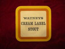 Watney's Cream Label Stout Coaster