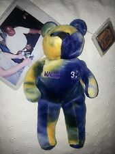"LA Lakers MAGIC JOHNSON #32 Beanie Bear Toy"" Autographed"" #27/35 onlyOnly"