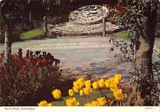 uk4490 floral clock cockington  uk