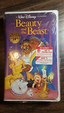 Beauty and the Beast Black Diamond Disney (VHS, 1992) New Factory wrapped