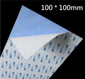 Thermal Conductive Silicone for Double-sided Tape 100x100mm x 0.5mm,Heatsink