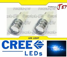 CREE LED Light 5W 3156 Blue 10000K Two Bulbs Turn Signal Parking Side Marker