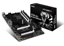 MSI 970A SLI KRAIT EDITION Desktop Motherboard - AMD 970 Chipset - Socket AM3+