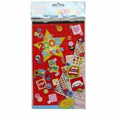 Kids Create Sticker Book Over 2000 Stickers in Assorted Design Childs Reward