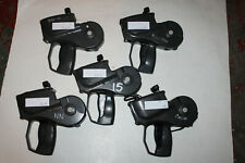 Lot of 5 used Avery Monarch Paxar 1152 Retail Price Label Sticker Price Gun