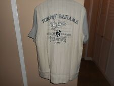 Tommy Bahama 2009 NY Yankees MLB Limited/Collector's Edition Shirt RARE NWT