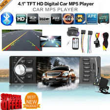 Car Auto Bluetooth Audio In-Dash FM Radio MP5 Player Head Unit USB/AUX W/ Camera