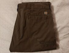 Carhartt Work Wear Relaxed Fit Brown 44X30