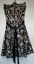 Stunning Jane Norman Dress Size 8 Black and White Wedding Outfit Prom