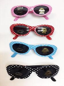 New Children's Toddler Girl's Polka Dot Kids Sunglasses 100% UV Protection