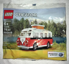 LEGO Creator - Super Rare Mini VW T1 Camper Van 40079 -Brand New Factory Sealed