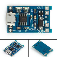 5Pcs 5V 1A Micro USB 18650 Lithium Battery Charging Board Charger Protection SS