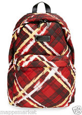 NWT Authentic MARC BY MARC JACOBS Crosby Quilt Backpack in Ruby Red Multi $198