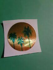 vtg 80's Cardesign Hotspots foil palm tree sticker *restored*(free ship $20 min)