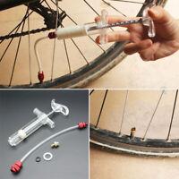 MTB Bike Bicycle Sealant Injector Tubeless Tyre Tire Cycling Kit Syringe Plastic