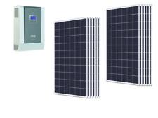 Kit isola 3kw 48V Solare inverter Steca Solarix 5000W pannello 270W Regolatore