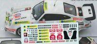 decal 1/43 PORSCHE 911 CARRERA RS 3.0 RALLYE 1000 LAGHI 1979 Arena D599