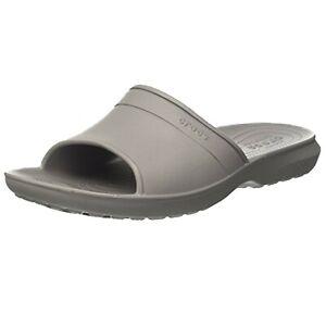 Crocs Unisex Classic Slides Standard Fit Sandals