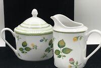 Studio Nova English Garden  Creamer and Covered Sugar Bowl Set