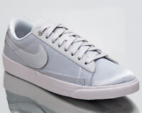 Nike Blazer Low SE Women's Pure Platinum Silver Athletic Lifestyle Sneakers Shoe