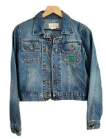 Early 2000's Todd Oldham Womens Small Denim Button Up Jacket