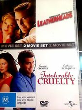 LEATHERHEADS -INTOLERABLE CRUELTY -DVD-USED